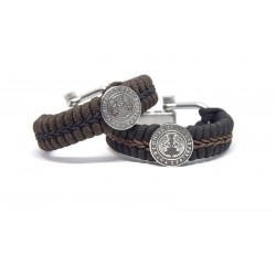 Futhark Paracord Bracelet