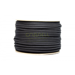 Paracord 50m spool - black