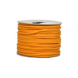 Paracord 50m cívka - oranžová