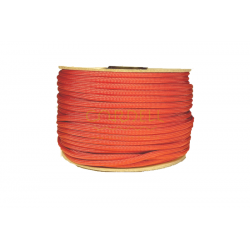 Paracord 50m spool - brick red