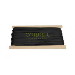 Paracord 25m card - black