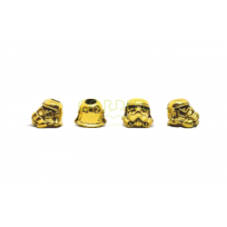 Stormtrooper metal bead