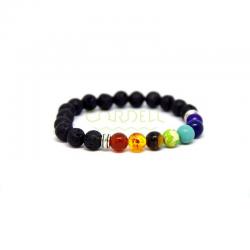 Chakra paracord bracelet