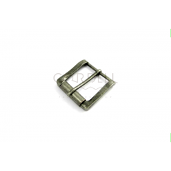 Zinc belt buckle 40mm