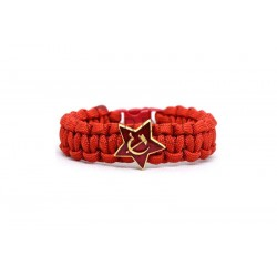 Communist Paracord Bracelet