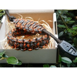 Paracord bracelet autumn...
