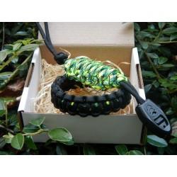 Paracord bracelet gecko set...