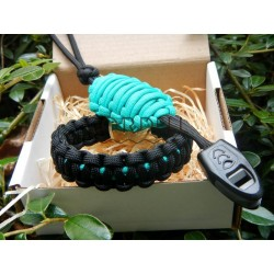 Paracord bracelet acid set...