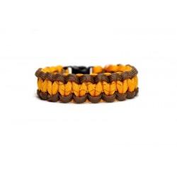 Paracord bracelet sale Gold...