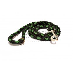 Paracord leash large - green