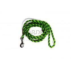 Paracord green leash sale S/M
